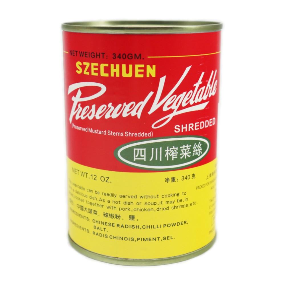 PRESERVED VEGETABLES (SHREDDED) (ZHA CAI)