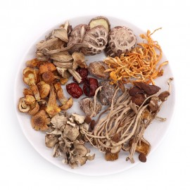 FIVE MUSHROOMS NOURISHING SOUP