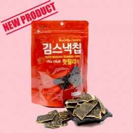 HOT CHILLI FLAVOR SEAWEED CHIPS