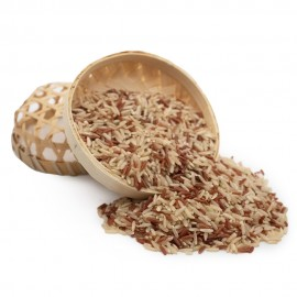 MIXED BROWN AND WHITE RICE