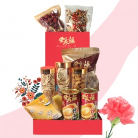 MOTHER'S DAY RED CARNATION GIFT BOX