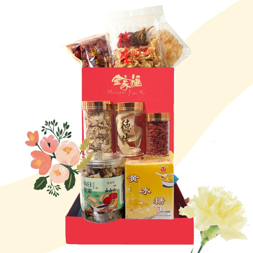 母亲节黄康乃馨礼盒