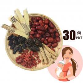 30天坐月红枣茶