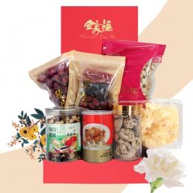母亲节白康乃馨礼盒