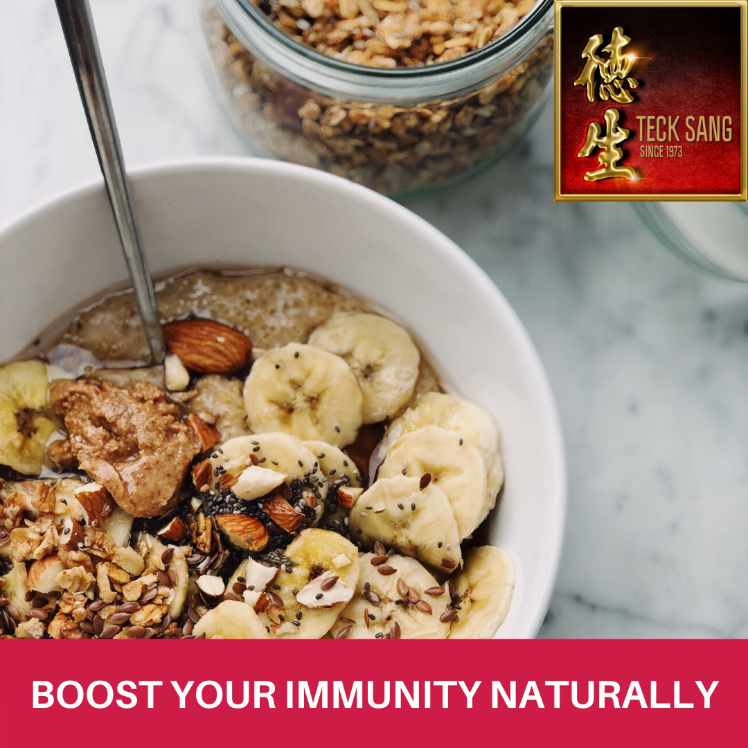 Natural ingredients to boost immunity