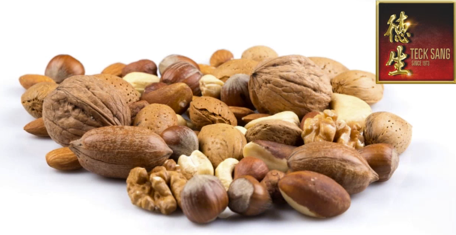 Teck Sang Sells a wide variety of nuts