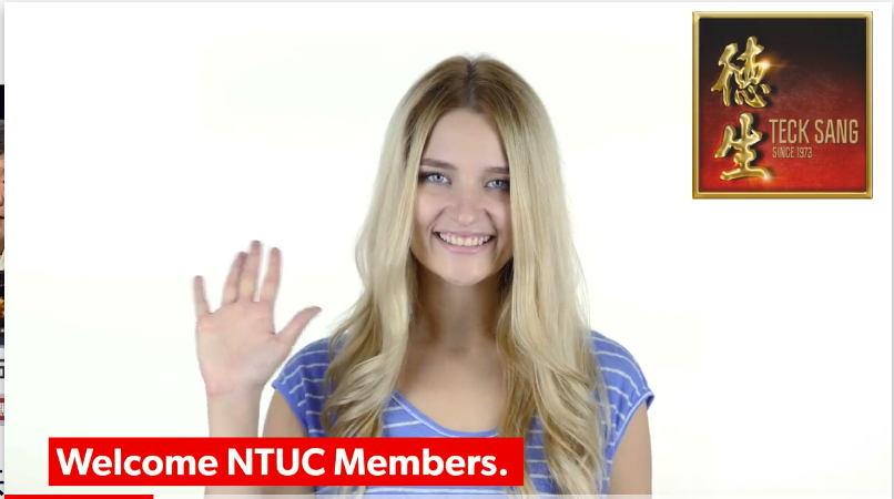 Welcome NTUC members