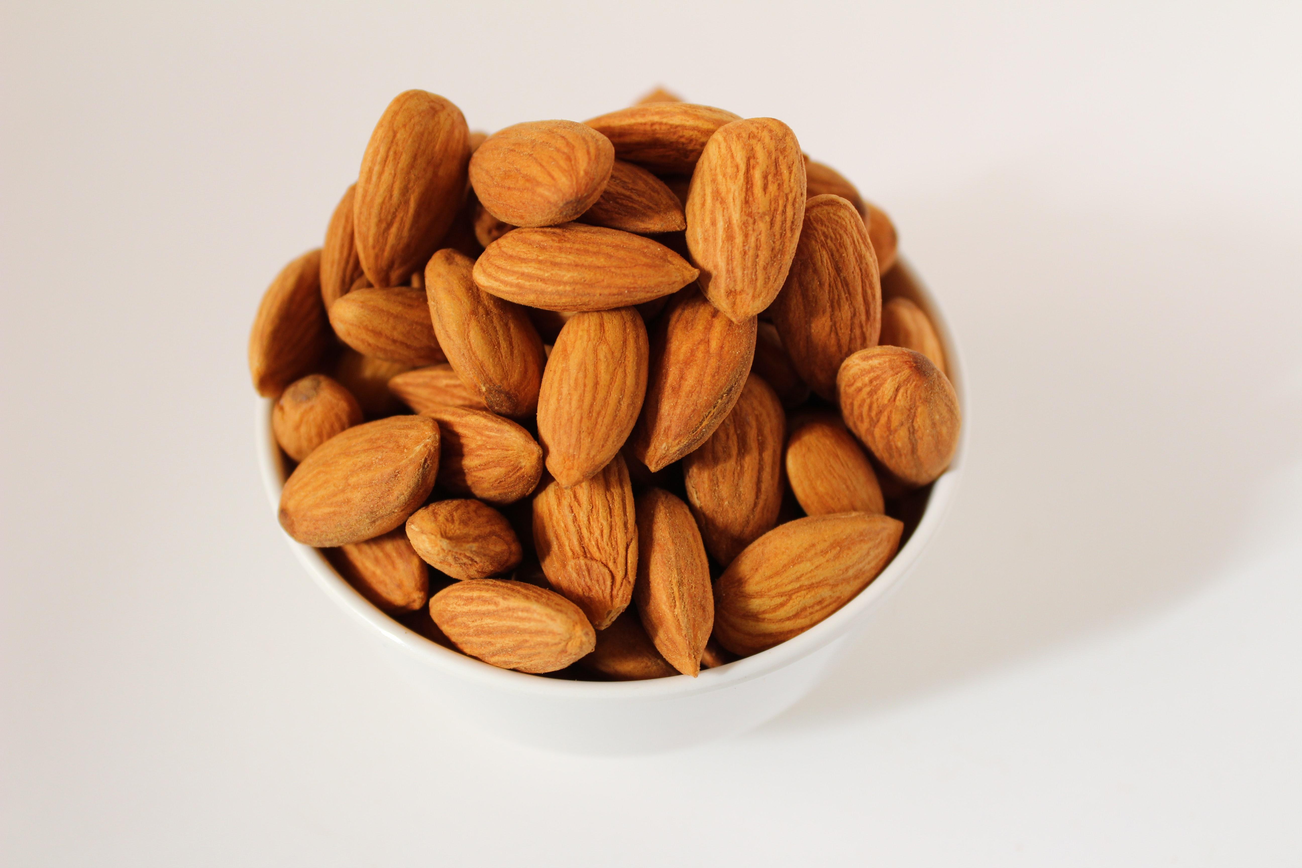 Almonds (Credits: Unsplash)